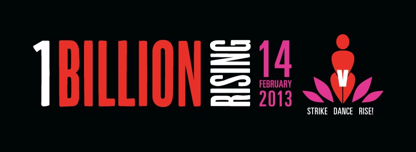 Dilisha Patel supporting One Billion Rising campaign against violence on women
