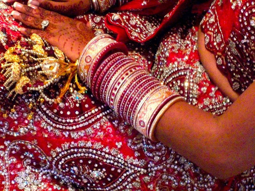 Image from http://pixabay.com/en/wedding-india-hindu-bride-jewelry-19436/