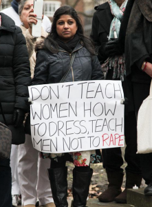 Don't Teach Women How To Dress, Teach Men Not To Rape by Cincera Productions