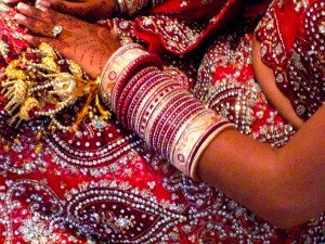 Image from http://pixabay.com/en/wedding-india-hindu-bride-jewelry-19436/